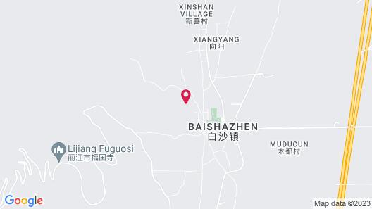 Baisha Holiday Resort Lijiang Map