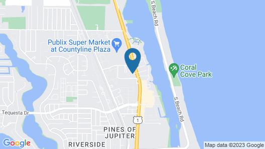 Tequesta Palms Inn Map