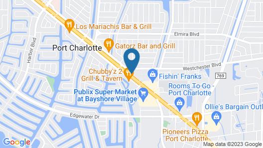 Knights Inn Port Charlotte Map
