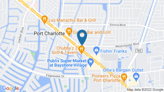 Microtel Inn & Suites by Wyndham Port Charlotte Map