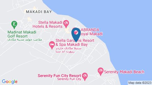 Labranda Club Makadi  Map