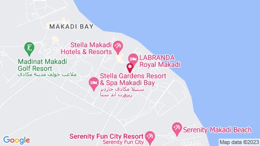 Labranda Royal Makadi Map
