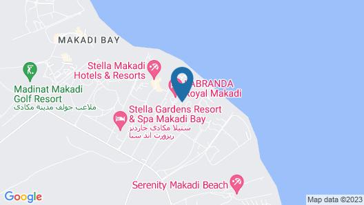 Lemon & Soul Makadi Bay - Adults Only Map