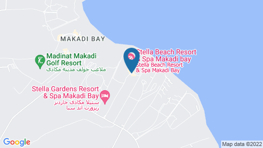 Stella Di Mare Beach Resort & Spa - Makadi Bay Map