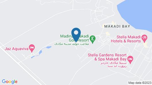 Steigenberger Makadi (Adults Only) Map