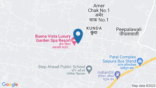 Buena Vista Luxury Resort Map