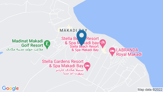 Cleopatra Luxury Resort Makadi Bay Map