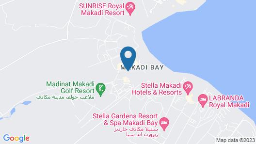 Jaz Makadi Saraya Palms - All Inclusive Map