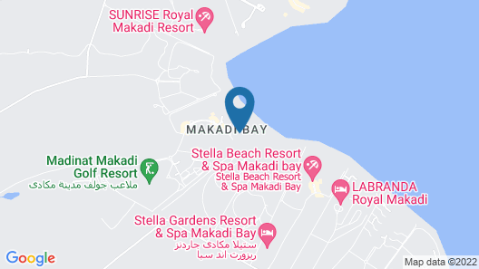 Iberotel Makadi Beach Map