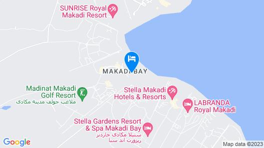 Iberotel Makadi Beach Map