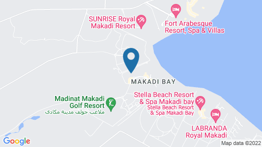 Jaz Makadi Star & Spa Map