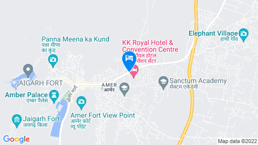 Hotel Amer View Map