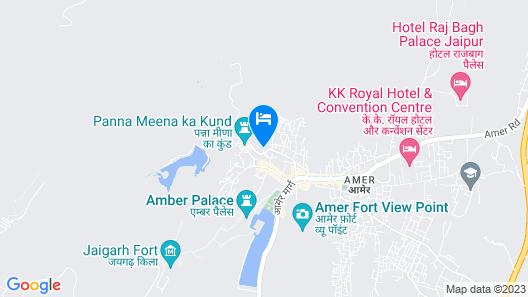 V Resorts Adhbbhut Jaipur Map