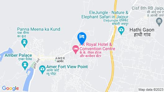 Hotel RG Palace Jaipur Map