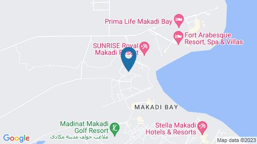 Tia Heights Makadi Bay Resort Map
