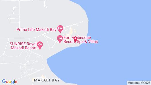 Jaz Aquaviva - All Inclusive Map