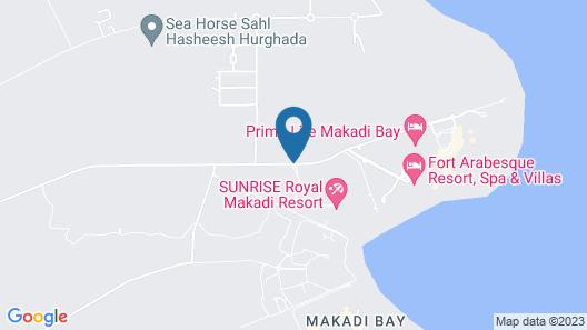 SUNRISE Royal Makadi Resort Map