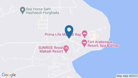 Fort Arabesque Resort, Spa & Villas - All Inclusive Map