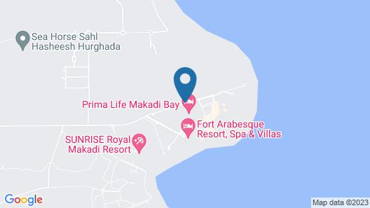 Prima Life Makadi Hotel Map