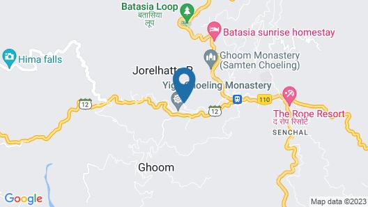 Sterling Darjeeling Map