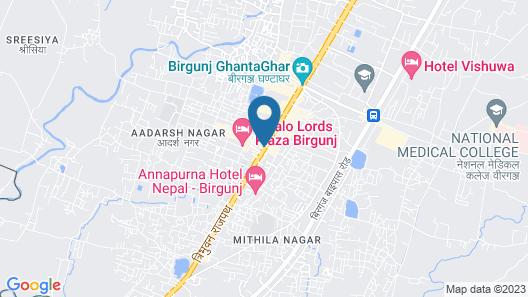 Hotel Suraj Map