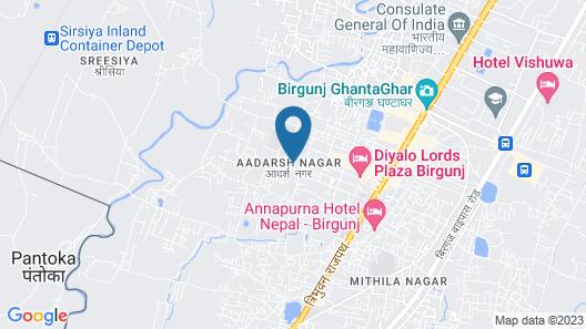 Hotel Pujan Map