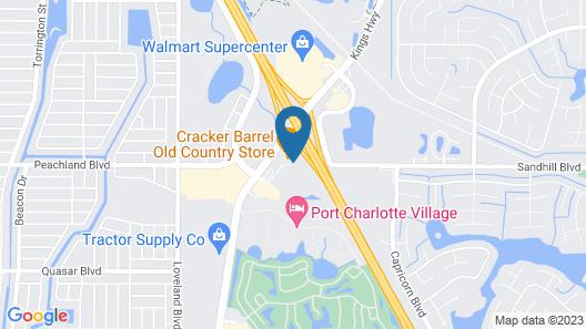 Sleep Inn & Suites Port Charlotte - Punta Gorda Map