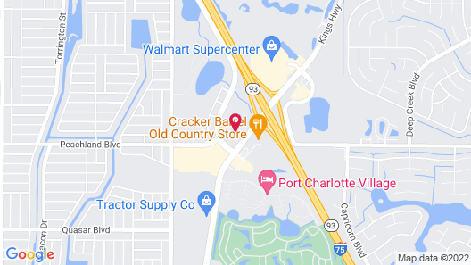 Country Inn & Suites by Radisson, Port Charlotte, FL Map