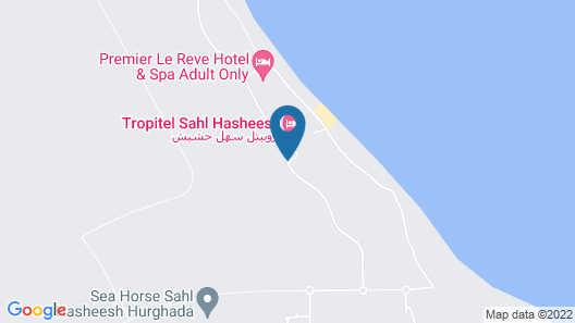 Albatros Citadel Sahl Hashsih - Families & Couples Only Map