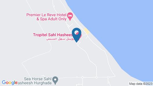 Tropitel Sahl Hasheesh Resort Map