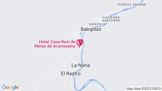 Hotel Juanitas Map