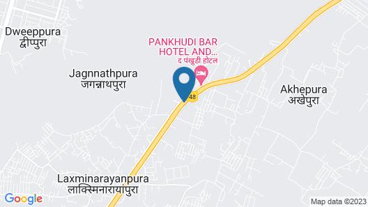 Indana Palace Jaipur Map