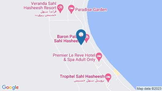 Baron Palace Sahl Hasheesh Map