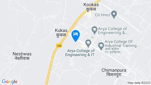 Fairmont Jaipur Hotel Map