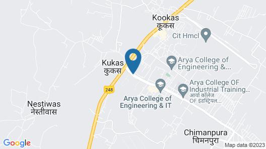 Le Méridien Jaipur Resort & Spa Map