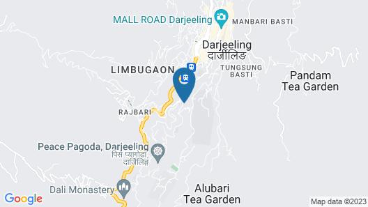 Udaan Dekeling Resort Darjeeling Map