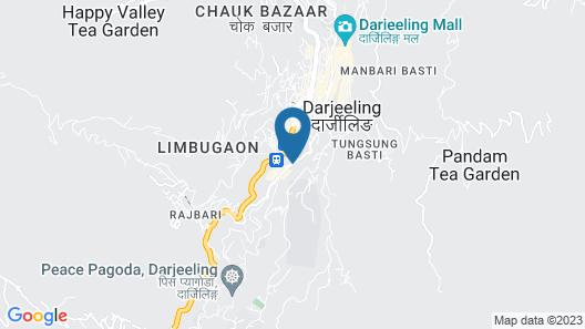 Muscatel Himalayan Resort Map