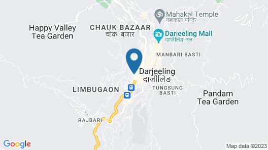 The Elgin, Darjeeling Map