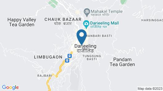 Ramada by Wyndham Darjeeling Gandhi Road Map