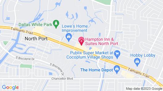 Hampton Inn & Suites North Port Map