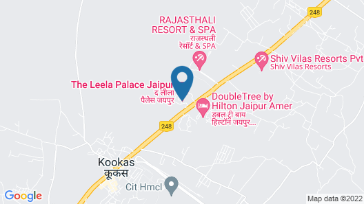 The Leela Palace Jaipur Map