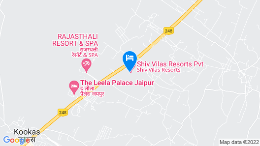 Shiv Vilas Resorts Map