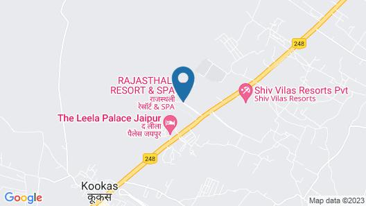 Rajasthali Resort and Spa Map