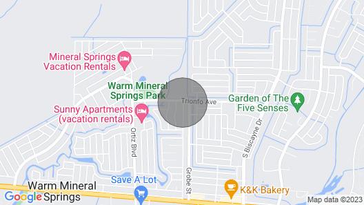 Granada Gates @ Warm Mineral Springs Park, A/C, Wi-Fi, Parking, Gulf Beaches Map