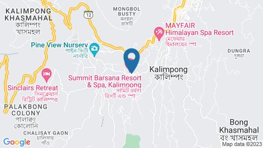 Summit Barsana Resort & Spa Map