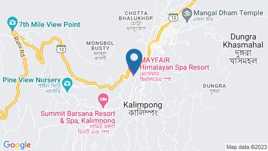 MAYFAIR Himalayan Spa Resort  Map