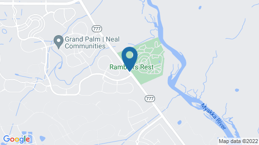 Ramblers Rest RV Campground Map