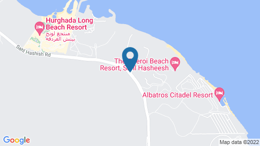 The Oberoi Beach Resort, Sahl Hasheesh Map