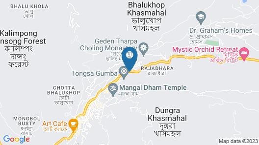 OYO 26748 Palkyi Lodge Map