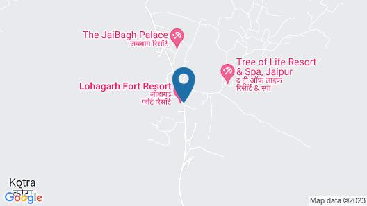 Lohagarh Fort Resort Map